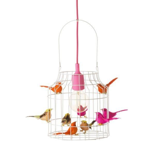 hanglamp vogels neon