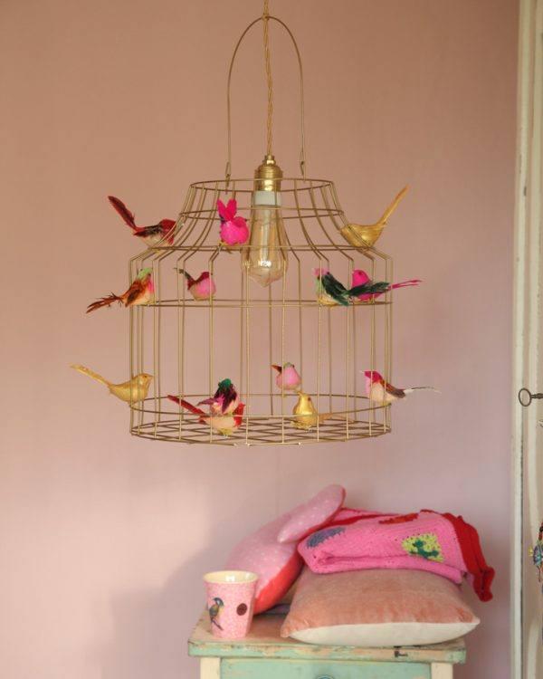 gouden hanglamp kinderkamer